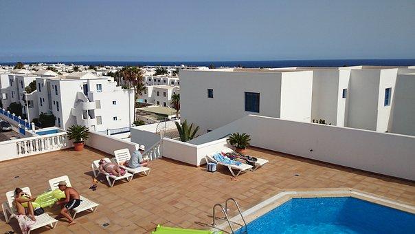 Lanzarote, Puerto Del Carmen, Koalemos, Houses