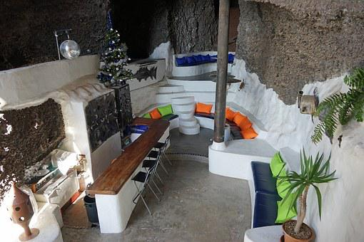 Museum Lagomar, Bar, House, Lanzarote, Canary Islands