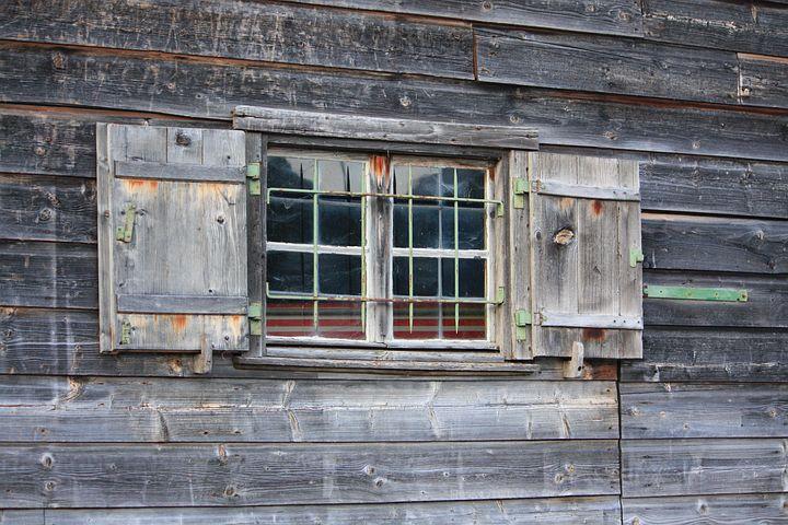 Tegernsee, Lake Tegern, Old Window