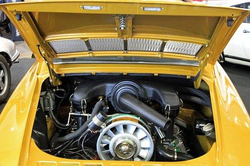 Oldtimer, Motor, Porsche, Technology, Automotive
