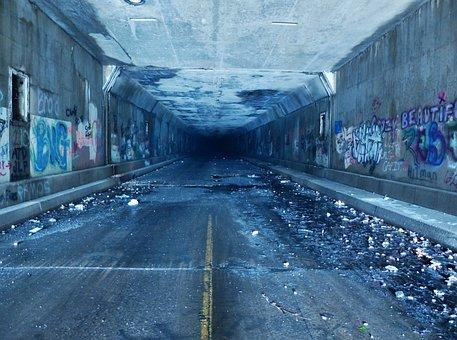 Tunnel, Pa Turnpike, Turnpike, Pennsylvania, Road