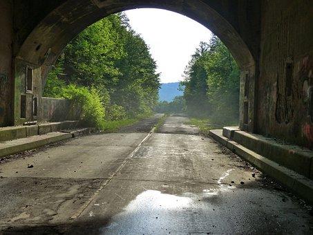 Automobile, Cars, Trucks, Pennsylvania, Tunnel