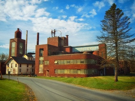 Bomberger, Pennsylvania, Old Distillery, Abandoned