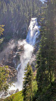 Krimml, Waterfall, Water, Nature, Pinzgau, Salzburg