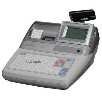 Casio, Te4500, Cash Register, Epos, Pos, Plu