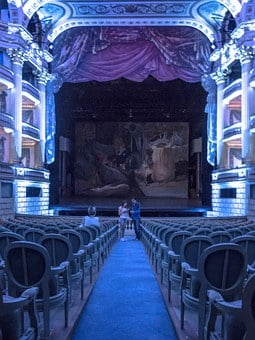 Theatre, Drama, Colors, Seats, Public, Box, Soledad