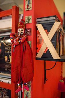 Red, Puppet, Doll, Mexican