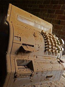 Register Machine, Old, Vintage, Ncr