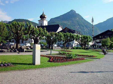 Lake Wolfgang, Austria, St Wolfgang, Salzburger Land