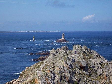 Point Du Raz, France, Sea, Landscape, Nature, Sky