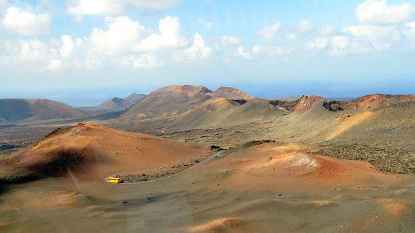 Lanzarote, Timanfaya, Volcanoes