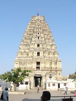 Virupaksha Temple, Hampi, Unesco Site, Karnataka, India