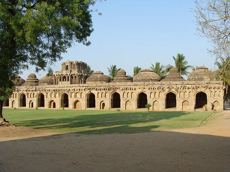 Hampi, Elephant Stables, Unesco Site, World Heritage