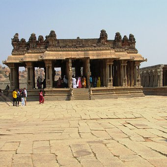 Vijaya Vittala Temple, Hampi, India, Landmark, Culture