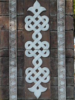 Pattern, Ornaments, Oriental, Arabic, Building