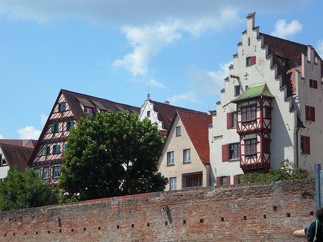 City View, Bowever, Ulm, City, Scenery, Homes
