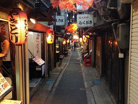 Traditional Japan, Yakitori, Food, Japanese, Culture