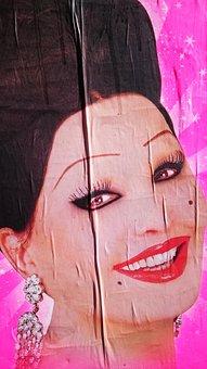 Poster, Pinky, Happy, Design
