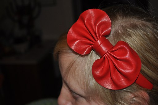 Hairband, Loop, Red, Romantic, Rockabilly