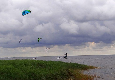 Kitesurfing, Kite, Sport, Kiteboarding, Recreation