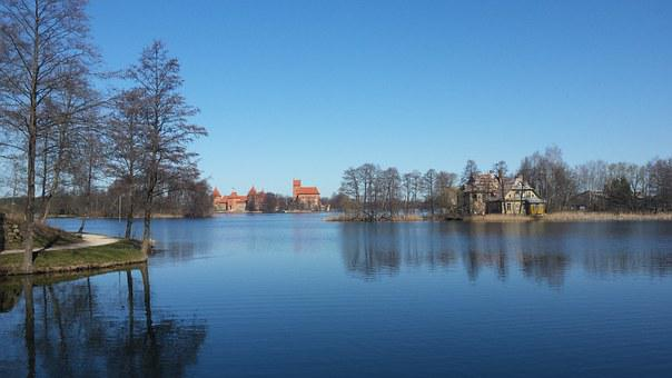 Lithuania, Trakai, Castle