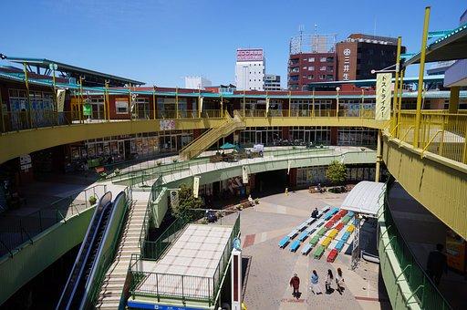 Asunal, Kanayama, Shopping, Center, Mall, Shops