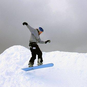 Snowboarder, Winter, Outdoor Activities, Mt Timothy