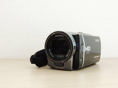 Camera, Handcam, Lens, Photographer, Photo