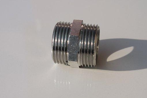 Brass, Chrome, Fittings, Metal, Nikel, Nipples, Plated