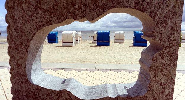 Island Föhr, Beach, North Sea, Beach Chair, Relaxation