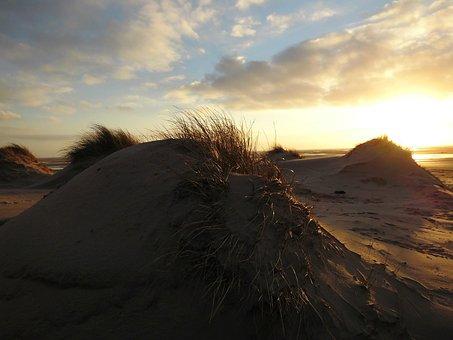 Beach, Amrum, Sea, North Sea, Island, Sand, Dunes
