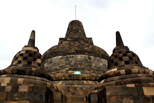 Stupa, Candi Brobudur, Magelang, Java, Indonesia