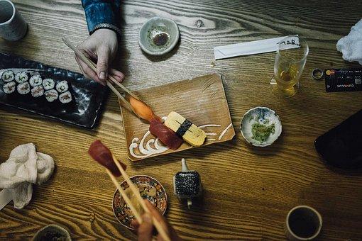 Japan, Nippon, Sushi, Eating, Asia, Japanese, Tourist