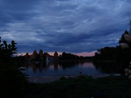 Trakai, Lithuania, Castle Lake