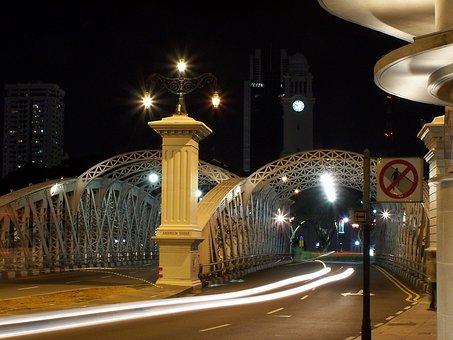 Night, City, City At Night, Urban, Architecture, Travel