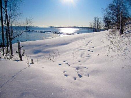 Finnish, Helsinki, Island Ferry, Humaus, Winter