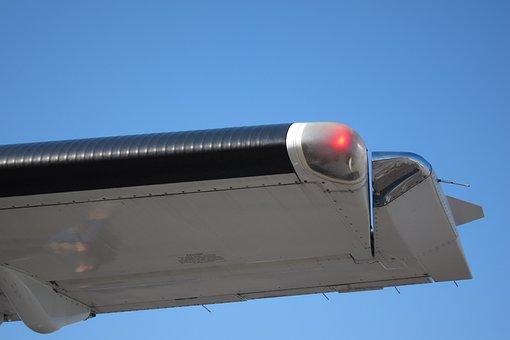 Aircraft, Wing, Overhang, Aileron, Aerodynamic, Balance