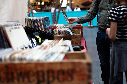 Business, Buy, Cds, Man, Market, Music, People