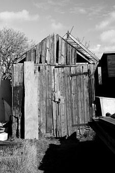 Shack, Hut, Cabin, Wooden, Collapsing, Southwold