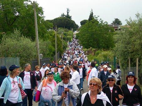 People, Geathering, Croud, Outdoors, San Cesareo, Rome