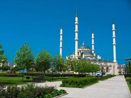 Chechnya, Grozny, Mosque