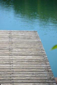 Water, Web, Lake, Nature, Bridge, River, Sky, Boardwalk