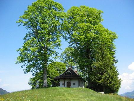 Chapel, Church, Linde, Christian, Small Church
