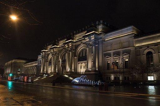 Metropolitan Museum, New York, Museum, Architecture