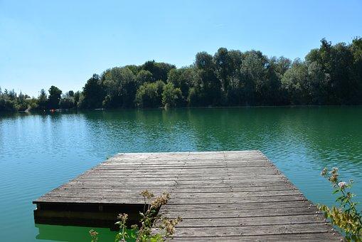 Water, Web, Lake, Sea, Nature, Bridge, River, Sky