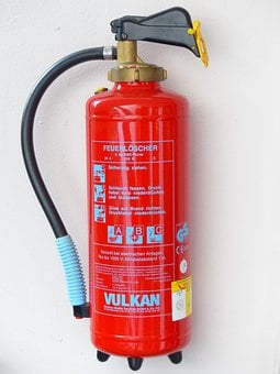 Fire Extinguisher, Fire, Delete, Protection, Red