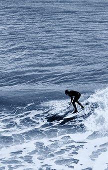 Surf, Surfing, Ocean, Sea, Water, Beach, Summer, Wave