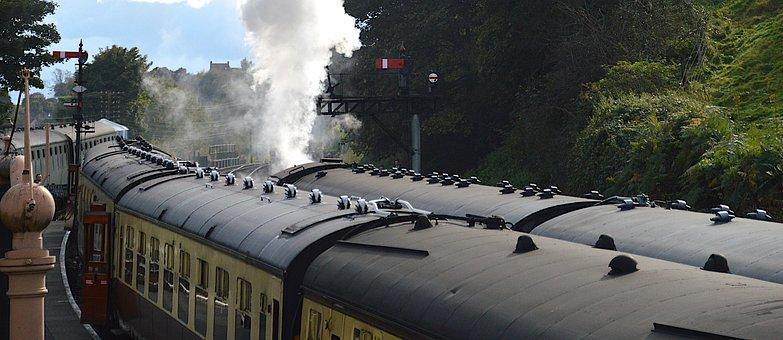 Train, Railway, Bridgnorth, Severn Valley Railway