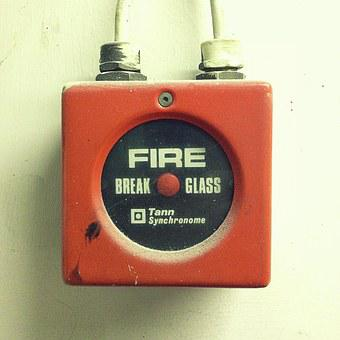 Object, Fire Alarm, Alarm, Smash, Danger, Warning, Fire