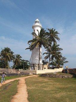 Lighthouse, Sri Lanka, Gallee, Tower